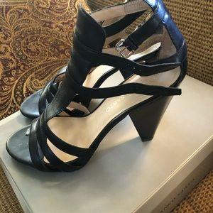 Black Heel/Sandals